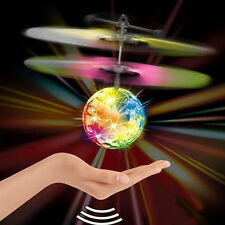 Hand Flying UFO Ball LED Toy Saucer Hovering Induced Infrared Sensor Floating