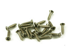 #4 Stainless Steel Pickguard screws 20pcs Fits Fender USA Jackson Smith No Rust~