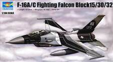 Trumpeter - F-16A/C Fighting Falcon Block 15/30/32 Modell-Bausatz 1:144 16C 16 A