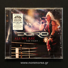 DORO - ALL WE ARE - THE FIGHT, CD ENHANCED AFM 2007 NEW SEALED