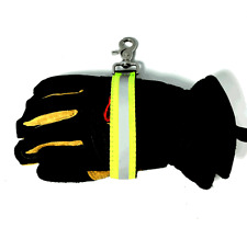 Heavy-Duty Firefighter Turnout Gear Glove Strap w/ Reflective