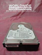 IBM 2909 59H6923 59H6813 18.2GB 7.2K RPM, 1.5inch U SCSI Disk Drive RS6000