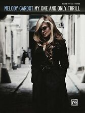 Melody Gardot My One and Only Thrill Sheet Music Piano Vocal Guitar So 000322213