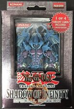 2006 YuGiOh Shadow of Infinity Special Edition Box 1/4 LIMITED EDITION VARIANT