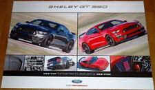 """NEW 2016 FORD MUSTANG COBRA SHELBY GT350 GT350R 24"""" x 36"""" DEALER ONLY POSTER!"""