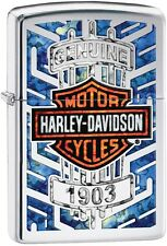 Zippo 2016 Catalog NEW HD Harley Davidson Motor Cycles 1903 HP Chrome 29159