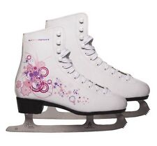 Ultrasport women's girls Iceskates, White, 5 UK 38 EU