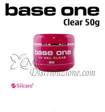 Silcare base one uv gel clear costruttore monofasico trasparente 50 g offertissi