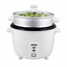 Better Chef 10-cup Rice Cooker Food/Vegetable Steamer non-Stick Bowl