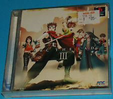 Arc The Lad 3 - Sony Playstation - PS1 PSX - JAP Japan