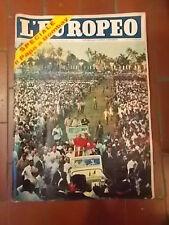 L'EUROPEO RIVISTA SETTIMANALE 1964 n° 50  anno XX