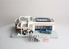 MTH Rail King Union 76 Gas Station with '67 Camero SS 30-9109 MINT