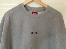 AWESOME ORIGINAL GREY OAKLEY SWEATSHIRT JUMPER TOP - SIZE LARGE (XL)