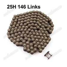25H 146 Links Chain 43cc 47cc 49 cc ATV Quad Dirt Pocket Bike Mini Moto Scooter
