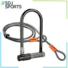 Kryptonite Kryptolock Bike U/D Lock + 4 Ft Flex Cable Cycle Security Sold Secure