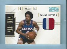 JULIUS ERVING 2010/11 NATIONAL TREASURES ALL-NBA 3 COLOR PATCH /25