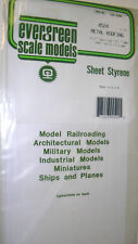"Evergreen Sheet Styrene 4524 - Metal Roofing 1/2"" Spacing 12.7mm, 040"" Thick 1mm"