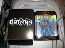 "Batman COLLECTOR EDITION 6"" Figure  2003 CLASSIC Silver Age BLUE GRAY Mattel"