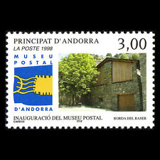 Andorra 1998 - Opening of the Postal Museum in Andorre Architecture - Sc 502 MNH