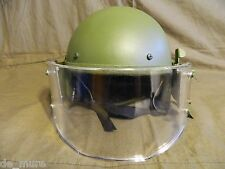 Russian ZSh-1-2M assault helmet replica with visor