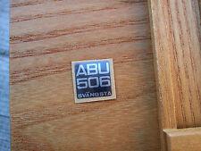 Abu 506 svangsta plaque latérale badge autocollant decal
