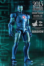HOT TOYS SIDESHOW 1/6 IRON MAN MARK 3 III DIECAST STEALTH MODE VERSION NUOVO NEW