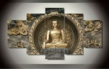 Modern Abstract Oil Painting Wall Decor Art Huge - Sakyamuni Buddha Statue