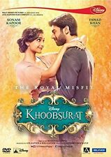 KHOOBSURAT (2014) SONAM KAPOOR, FAWAD KHAN - BOLLYWOOD MOVIE DVD