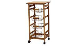 4 Basket Cart -Kitchen OR Bathroom-7