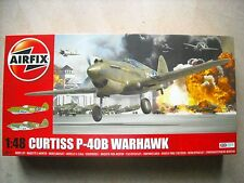 AIRFIX-1/48-#A05130-CURTISS P-40B WARHAWK
