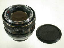 Canon FD ssc s.s.c. Al 1,2/55 55 55mm f1, 2 Chrome Chrome Bague Aspherical type 1