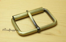belt buckle hardware roller pin buckle 2 inch 50mm anti bronze 6pcs E73