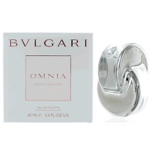 OMNIA CRYSTALLINE * Bvlgari * 2.2 oz * Eau de toillete * Perfume for Women * NIB