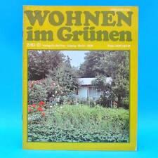 DDR Wohnen im Grünen 2/1983 Verlag für die Frau Z Leipzig Chinakohl Balkonmöbel