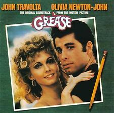 GREASE (MUSIQUE DE FILM) - JOHN TRAVOLTA - OLIVIA NEWTON-JOHN (CD)