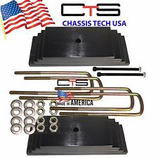 "Chassis Tech USA 99-04 FORD F250 Only 3.5"" Front Leveling lift kit Square Ubolts"