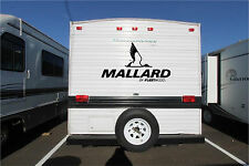 Mallard Fleetwood Camper RV Vinyl Decal Sticker 22x40