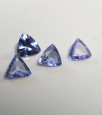 Purple/blue/lavender natural earth-mined Tanzanite trillions...0.56 carat