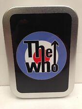 The Who Target Rock Band, Scooter Mods Cigarette Tobacco Storage 2oz Hinged Tin