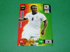 ESSIEN GHANA  PANINI FOOTBALL FIFA WORLD CUP 2010 CARD ADRENALYN XL