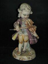 +# A013717_02 Goebel Archiv Muster Rokoko Barock Junge spielt Geige Fiddle FR11