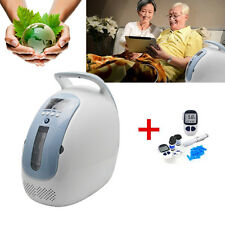 24hrs Portable Oxygen Concentrator Generator Home traval car +Digital Glucometer