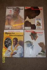 1960s Sports Illustrated SONNY LISTON Lot 4 Issues 1962 1963 1965 Cassius Clay