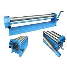 40 Metz Tools Sheet Metal working Slip Roll tool machine 610mm x 38mm rolls