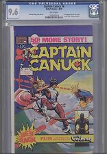 Captain Canuck #4 CGC 9.6 1979 Comely Origin Issue
