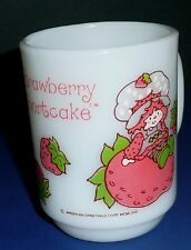 STRAWBERRY SHORTCAKE SSC FIRE KING MUG  Anchor Hocking Nice Shape 1980