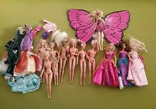 job lot of barbie dolls