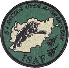 Patch Aufnäher Luftwaffe ISAF AG 51 Recces over Afghanistan ..........A2389K