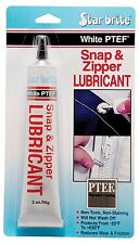 Boat Marine Upholstery Snap &Zipper Lube Lubricant w/ PTEF Barrier Coating 2oz