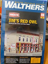 Walthers Cornerstone HO #3472 Jim's Red Owl (kit Form) We Combine Ship